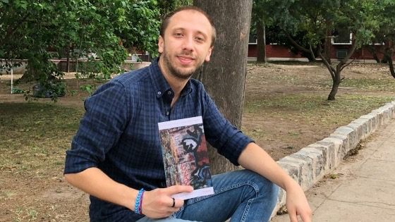 Poeta lomense presenta su libro de poesías