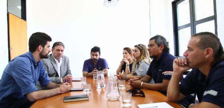 Quilmes: Los trabajadores de Kimberly Clark fueron recibidos por el municipio