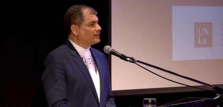 """Rafael Correa: """"Ya es hora de crear un verdadero sistema latinoamericano"""""""