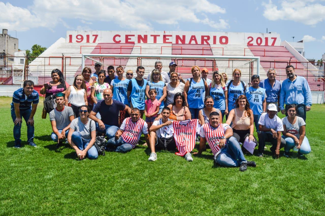 Los Andes y Barrios de Pie realizarán tareas de colaboración y asistencia social