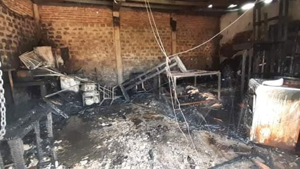 El Club Social y Deportivo de Villa Fiorito volvió a funcionar tras el incendio