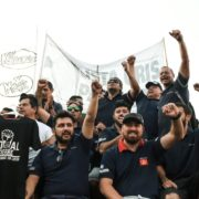 """Los trabajadores de Kimberly Clark repudiaron el """"vaciamiento"""" de la planta"""