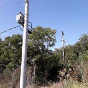 Santa Catalina: denuncian que un tendido eléctrico provoca daños al ambiente
