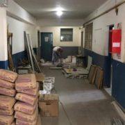 Denuncian obras incompletas en escuelas de Lanús