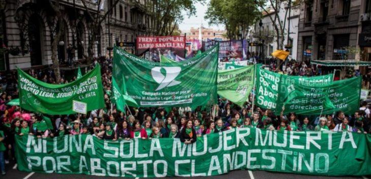 Los feminismos de la región se preparan para la jornada federal por el aborto legal