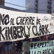 Kimberly Clark: nueva protesta contra la judicialización del reclamo