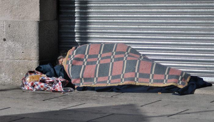 No hay aislamiento en situación de calle