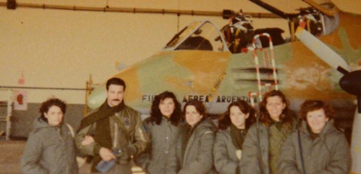 La guerra de Malvinas y sus mujeres de verde