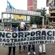 Los trabajadores del frigorífico Penta reclamaron por la reapertura de la fábrica