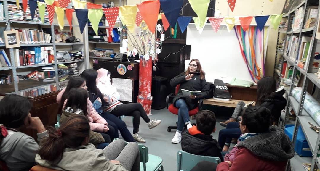 Una iniciativa barrial promueve la lectura en cuarentena