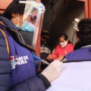 Coronavirus: fueron a buscar casos al barrio 30 de Agosto de Lomas de Zamora
