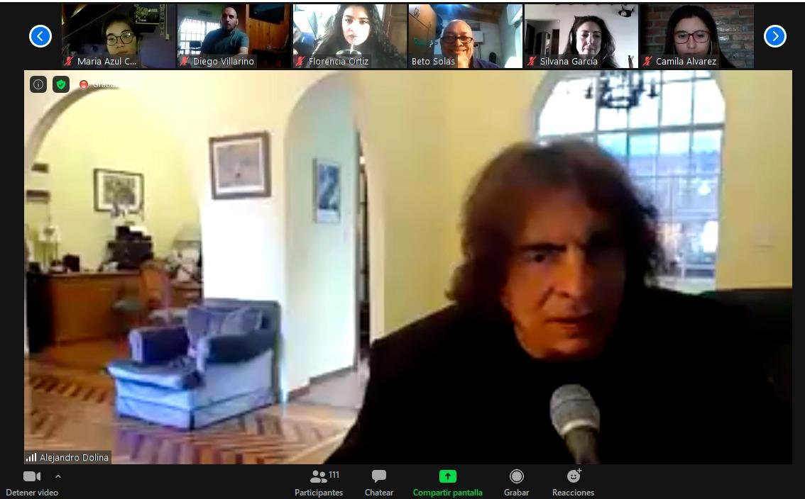 """Alejandro Dolina: """"La radio no cambió tanto como parece, lo que cambió fue lo tecnológico"""""""