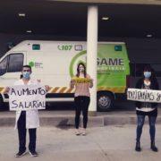 """Médicos bonaerenses denuncian que """"la mayoría"""" de los trabajadores de la salud """"tenía enfermedades de riesgo"""""""