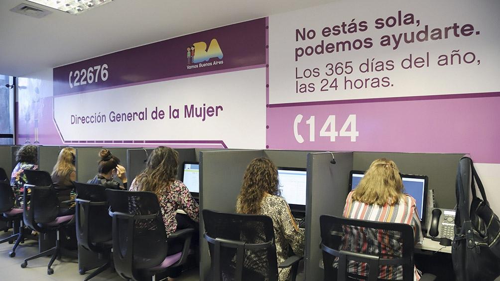 La Línea 144 recibió 161 casos de intentos de femicidio en los primeros cinco meses del año