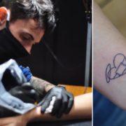 Un homenaje a su papá: hará 500 tatuajes gratis para familiares de víctimas del coronavirus