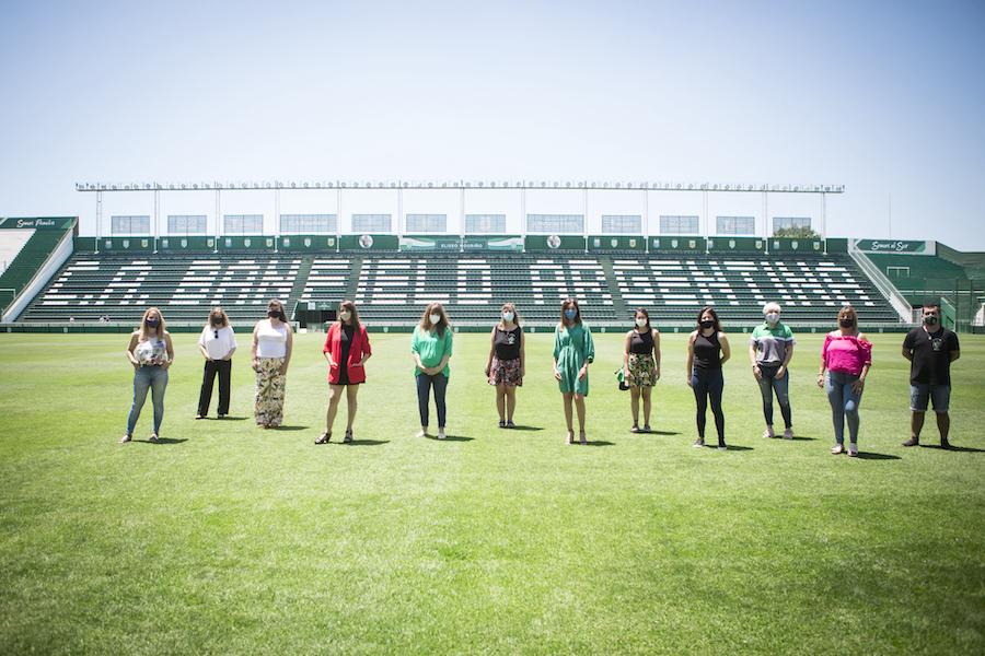 El INADI y Club Banfield juntos contra la discriminación en el deporte