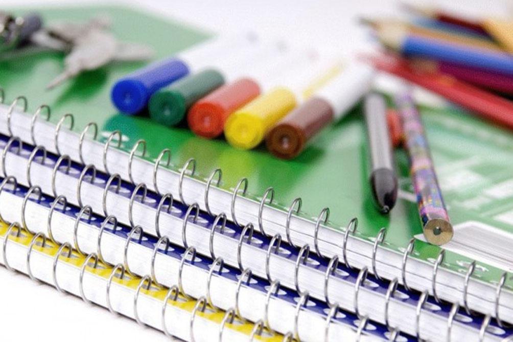 Canasta escolar: los precios de los útiles por debajo de la inflación