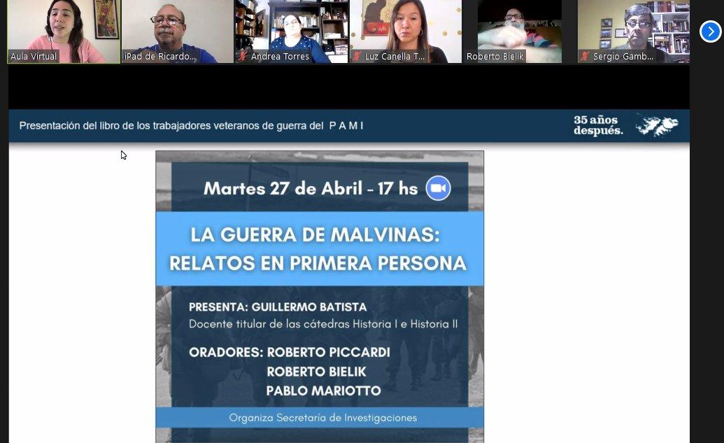 Un encuentro para homenajear a los ex combatientes de Malvinas
