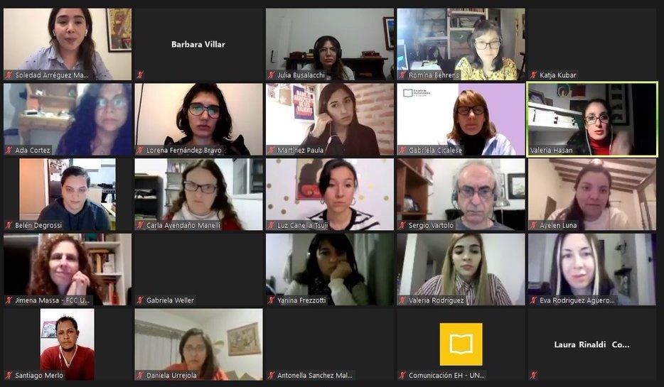 Editoras de género y comunicadoras debatieron sobre cómo hacer un periodismo feminista
