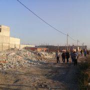 Desalojo en La Ribera: casas tumbadas sin explicación ni orden judicial
