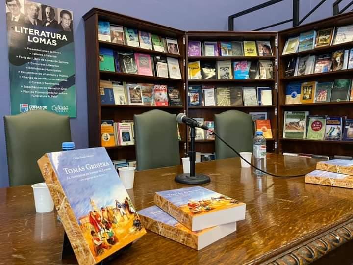 Presentaron un libro sobre Tomás Grigera, fundador de Lomas de Zamora
