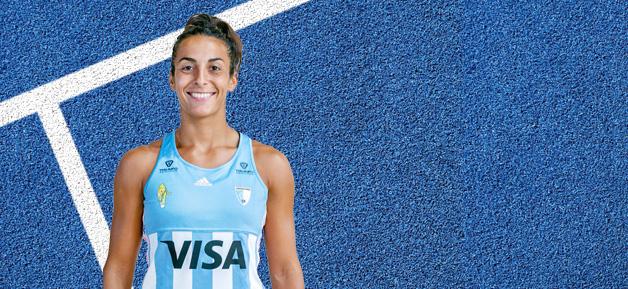 """María Emilia Forcherio,  jugadora lomense de Las Leonas: """"Soñás toda la vida con tener un podio y vivir un juego olímpico"""""""