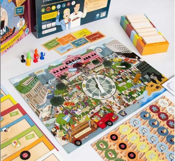 Llegó el primer juego de mesa peronista de la historia: ¿Jugarías El Gran Descamisado?