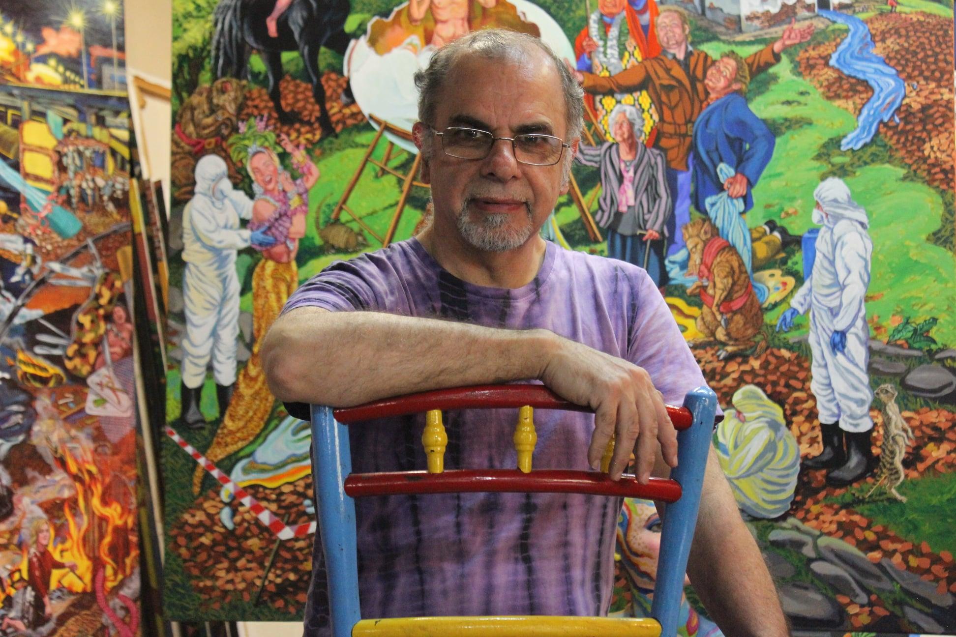 """""""El arte es la vida cotidiana"""": con un festival cultural homenajearán al artista lomense Roberto Cortés"""