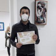 Quién es el artista de Lanús que expondrá en el Carrousel del museo del Louvre en París