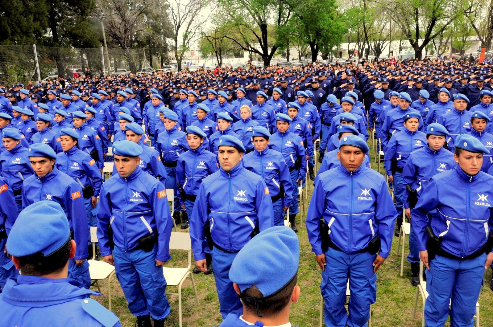 Policía local Lomas de Zamora
