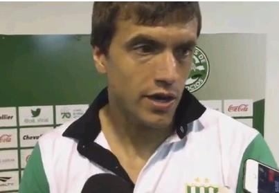 Renato Civelli, tras la victoria ante Belgrano en el Florencio Sola.