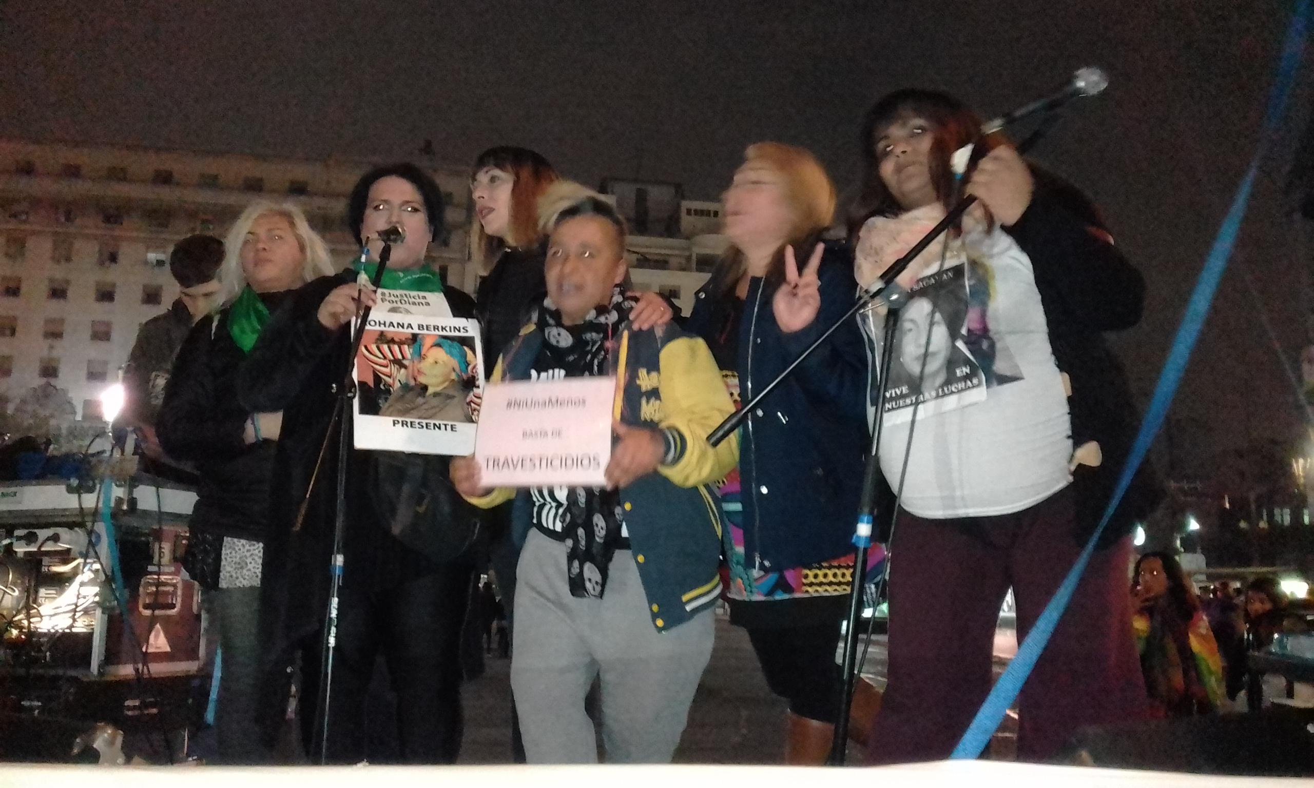 Marcha Nacional contra los Travesticidios II