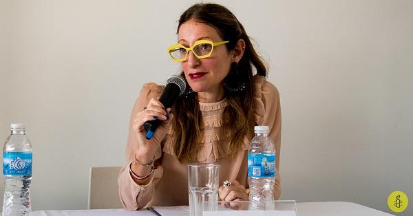 Directora ejecutiva de Amnistía Internacional Argentina Mariela Belski