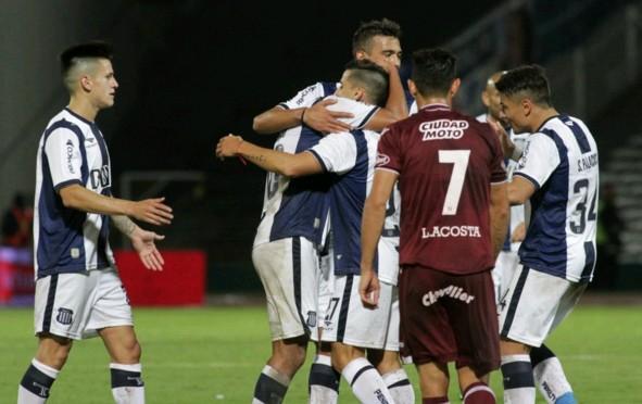 Lanús cayó por 5-2 en su visita a Talleres