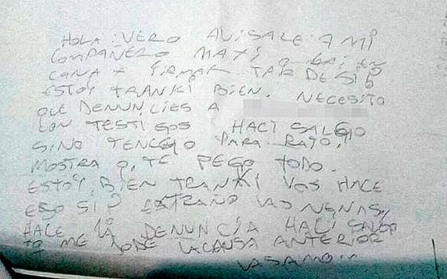 Carta de Gonzalo