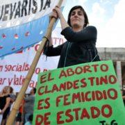 Marcha y tuitazo por el aborto legal