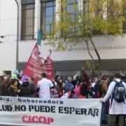 Nueva jornada de protesta de Cicop