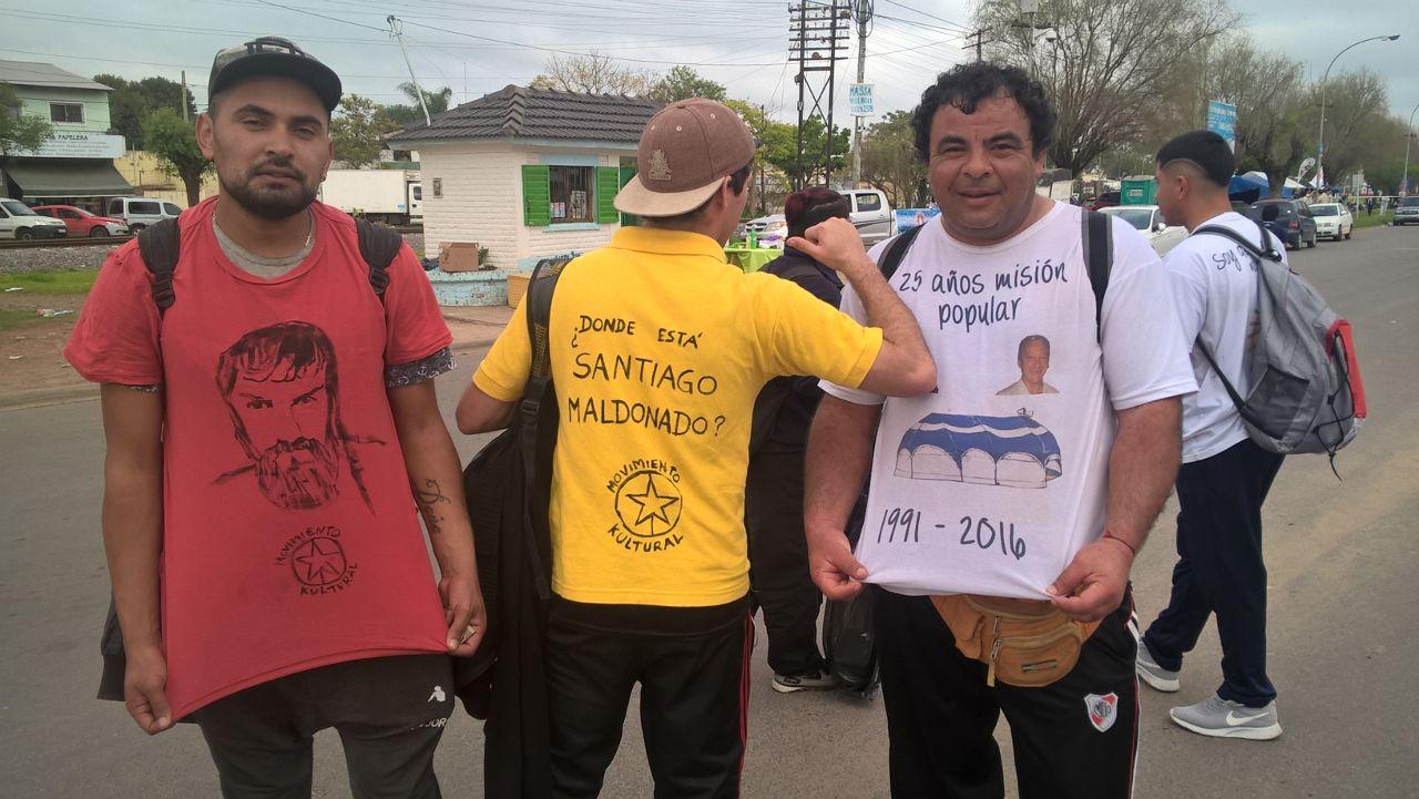 Caminata a Luján Maldonado