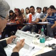 """Papaleo: """"Cuando se habla de Clarín, se habla de algo que levanta sospechas"""""""