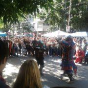 Un domingo de sol al compás de combates medievales y música celta