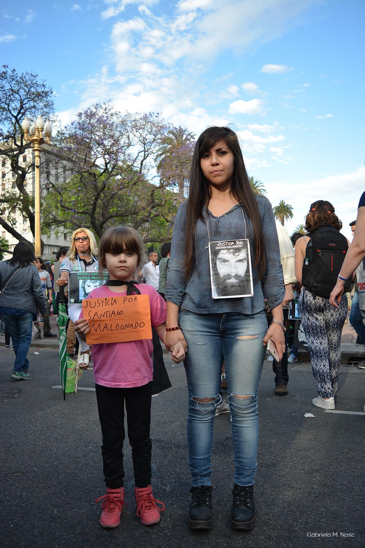 Marcha por Santiago Maldonado Foto: Gabriela Naso