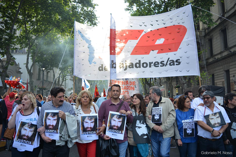 Marcha por Santiago Maldonado CTA Foto: Gabriela Naso