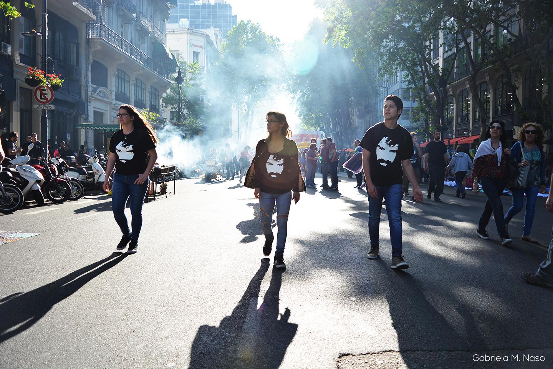 Marcha por Santiago Maldonado Foto:Gabriela Naso