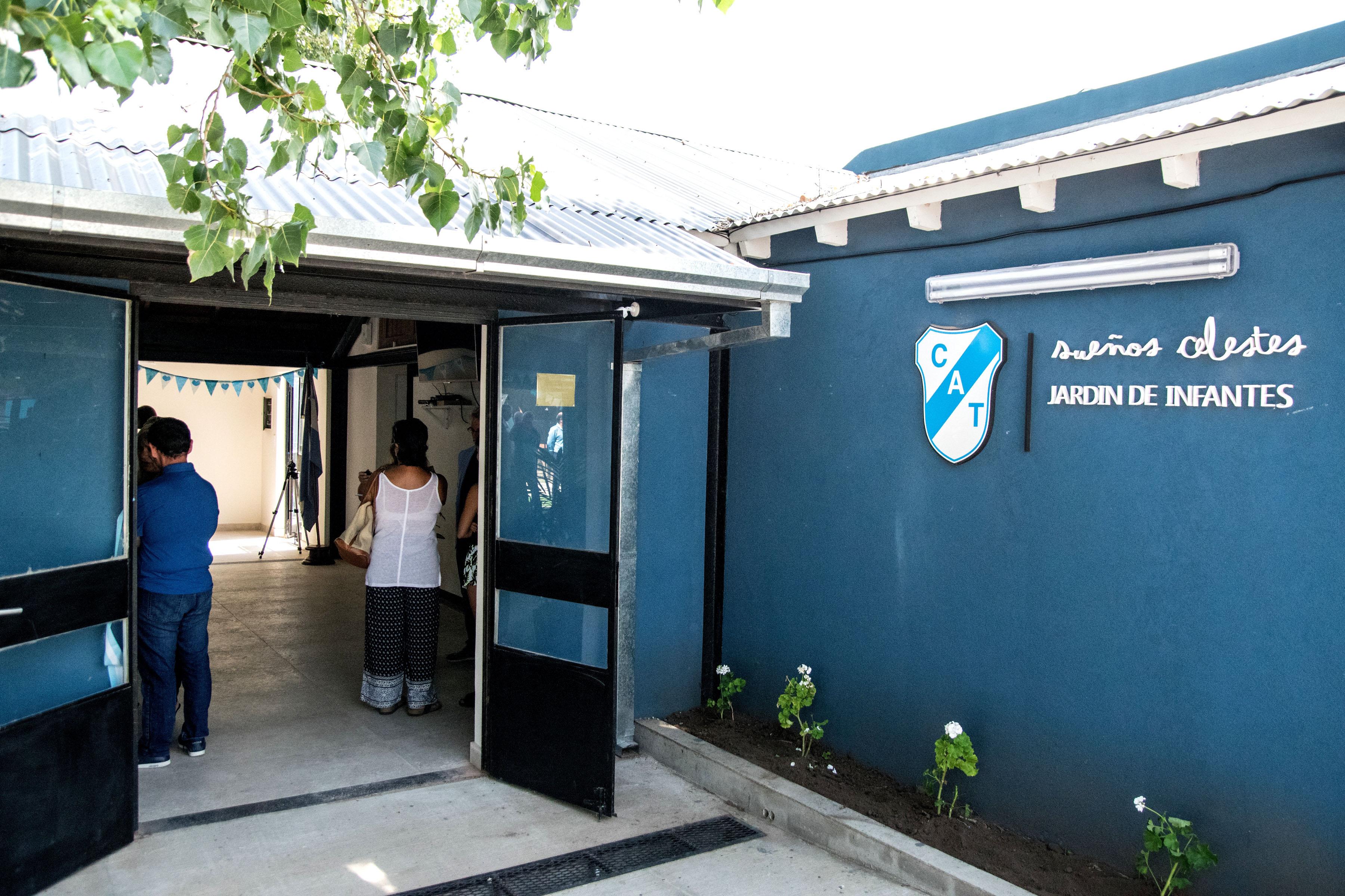 El club Temperley inauguró su jardín de infantes