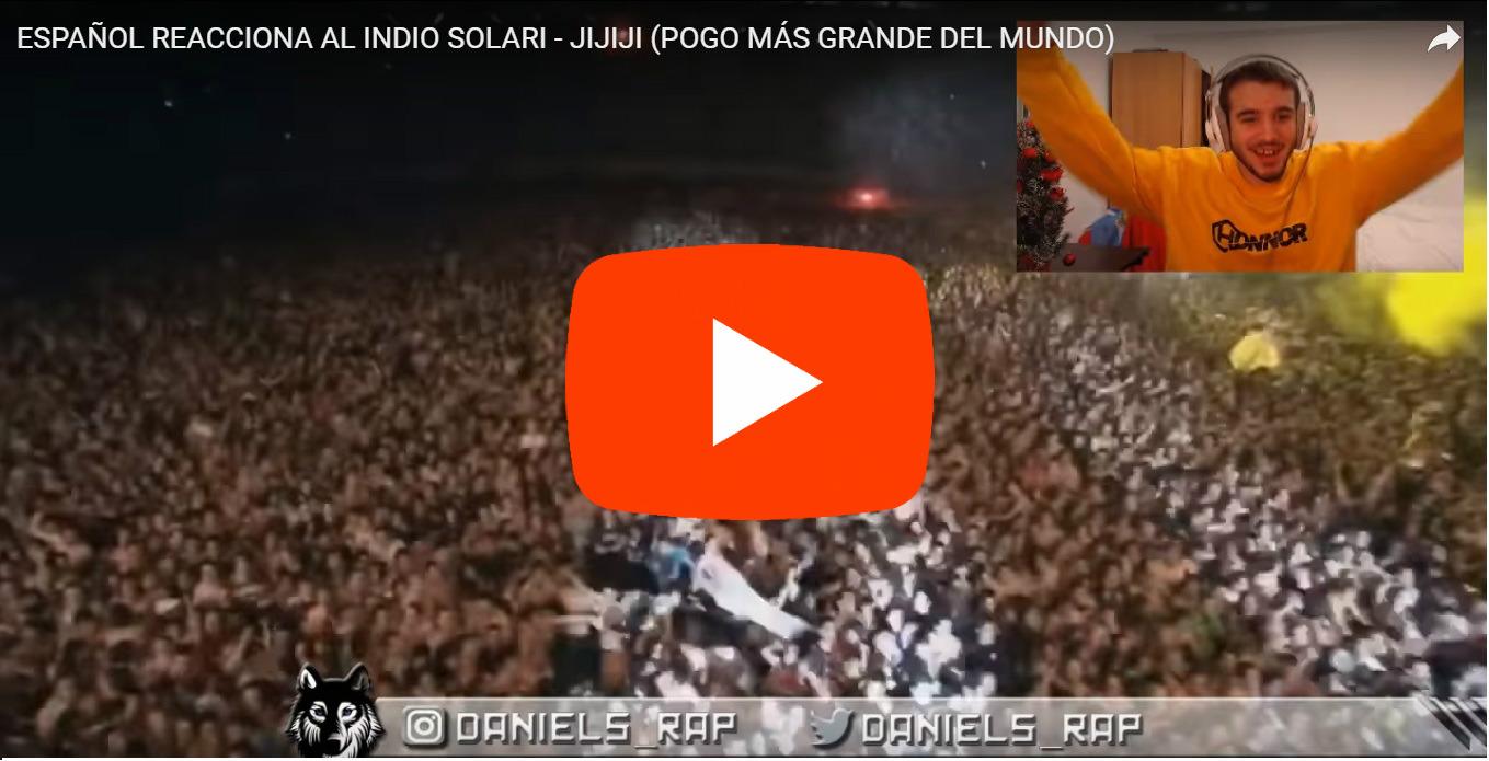 El español que enloqueció con el «pogo más grande del mundo»