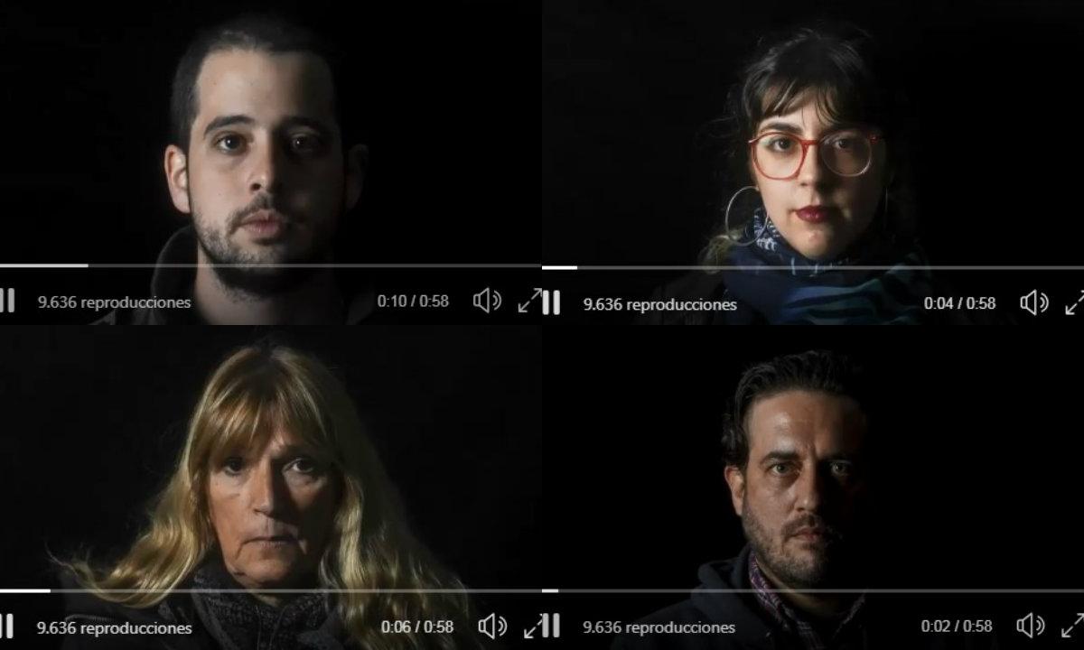 """""""No pueden mirarnos a los ojos"""": el duro video de lxs trabajadorxs de Télam"""