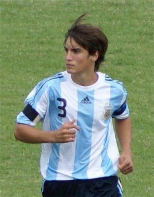 Tagliafico, en la Selección Sub 20