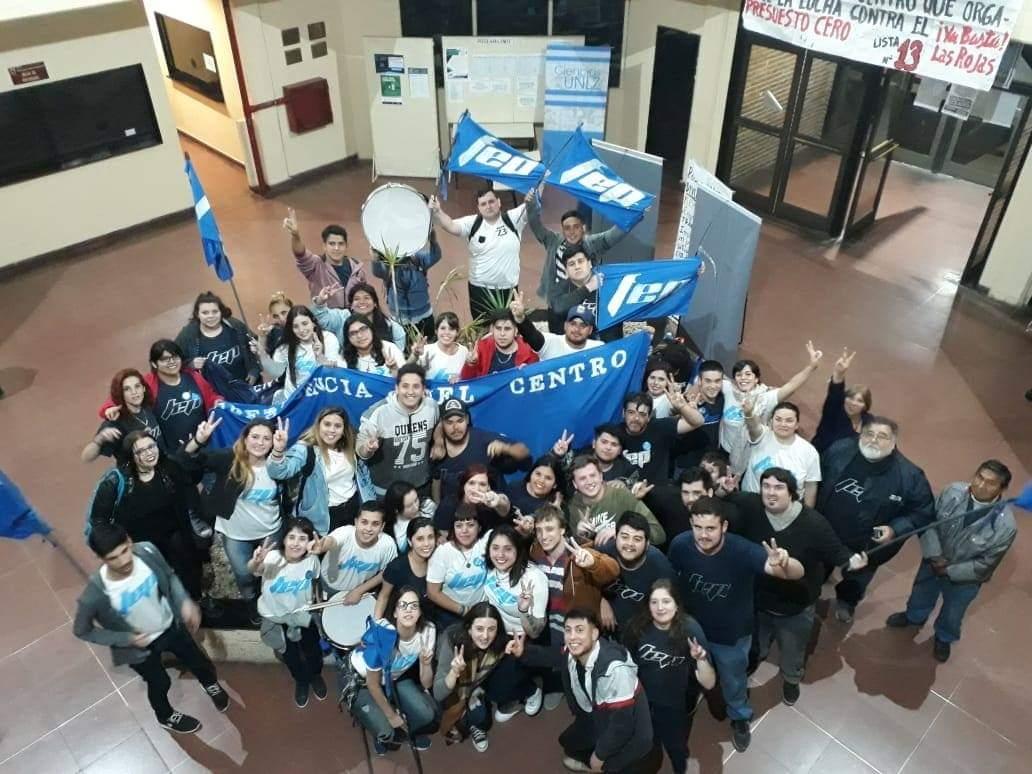 Con récord de votos, el FEP se volvió a quedar con el centro de estudiantes