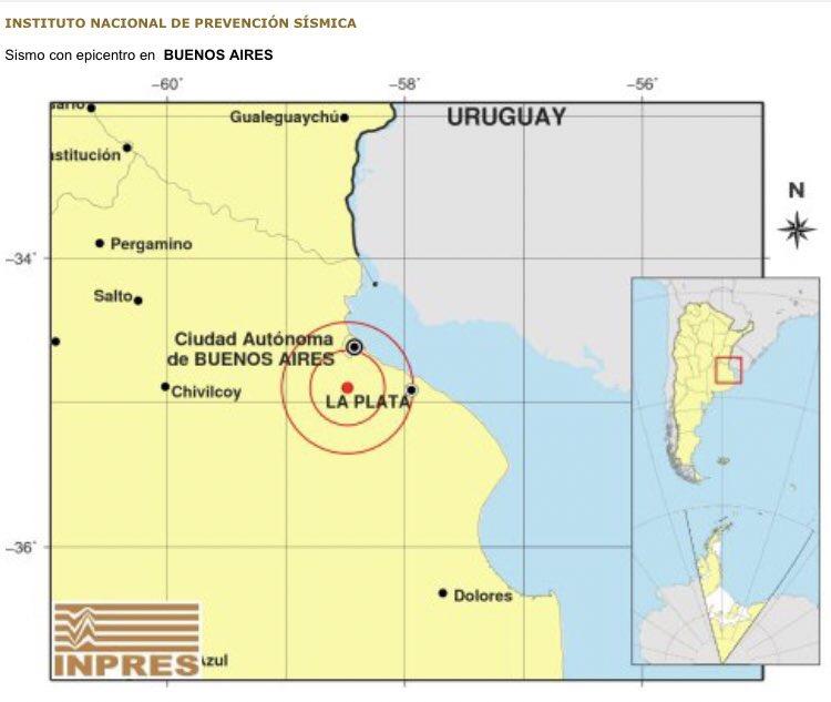 Un sismo hizo temblar el Sur del Gran Buenos Aires