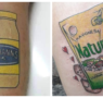 Pasión por la mayonesa: estos tatuajes te dejan con la boca abierta
